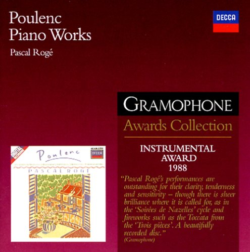 Poulenc Piano Works